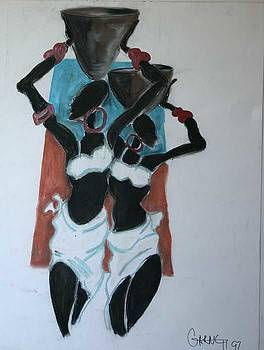 African Women by Garnett Thompkins