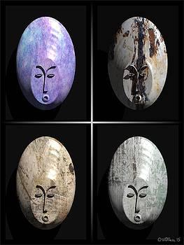 Walter Oliver Neal - Afrique Masks Series 4