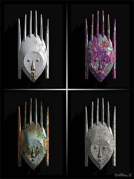 Walter Oliver Neal - Afrique Masks Series 6