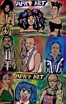 Afro Punk Funky People by Tony B Conscious
