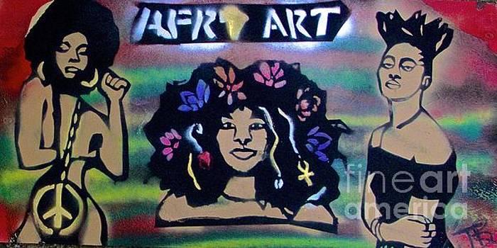 Afro Punk sistahs by Tony B Conscious