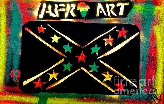 AFRO SOUTHern flag by Tony B Conscious