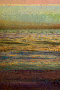 After the Sunset - Teal Sky by Michelle Calkins