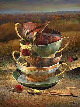 After The Tea Party by Zia Art