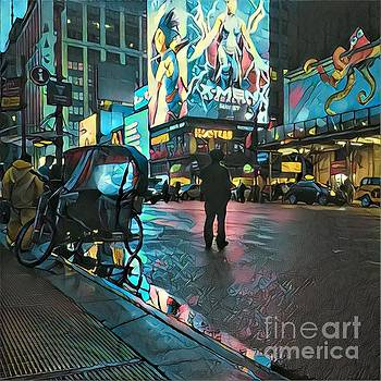 After They've Gone - Midnight in Manhattan by Miriam Danar