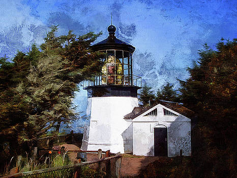 Thom Zehrfeld - Afternoon At The Cape Meares Lighthouse