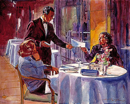 David Lloyd Glover - Afternoon At The Dorchester