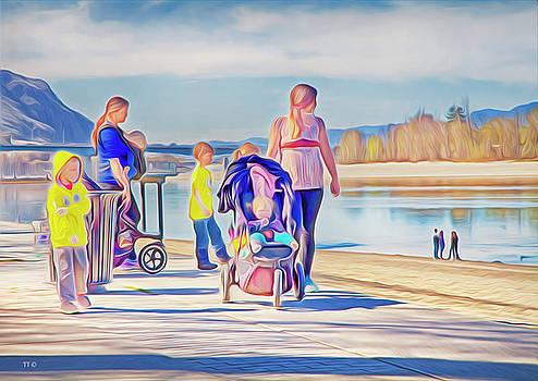 Afternoon At The Park by Theresa Tahara