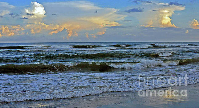 Afternoon Beach Reflections 4 by Lydia Holly