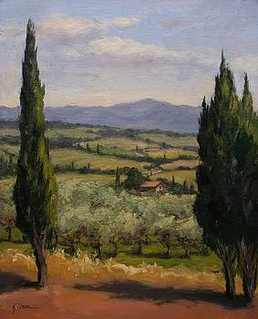 Afternoon in Tuscany by Kristen Olson