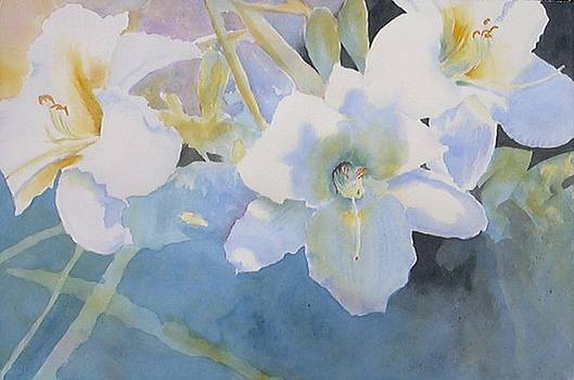Afternoon Lilies by Lynn Millar