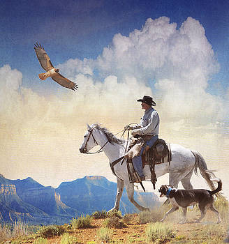 Afternoon Ride  by R christopher Vest