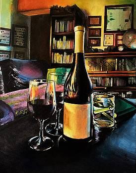Aglianico Wine on Christmas Eve by Alessandra Andrisani