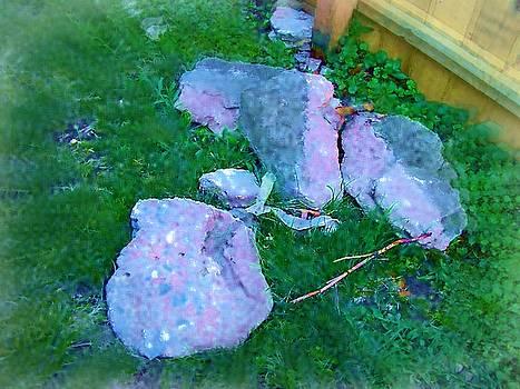 Air Brushed Rocks by Skyler Tipton