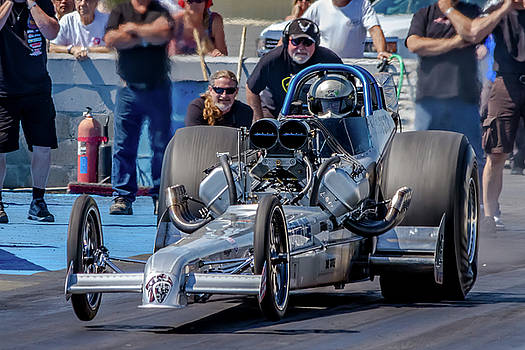 Air Force Dragster by Bill Gallagher