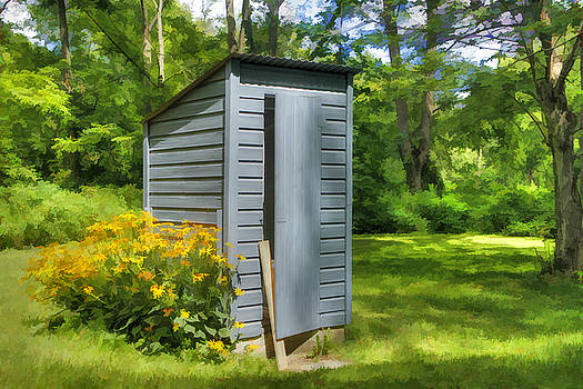 Airing Outhouse by David Simons