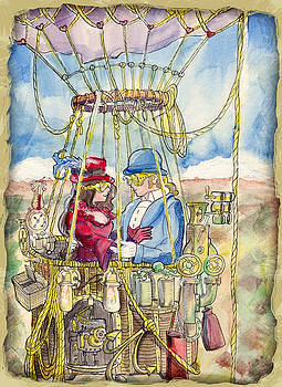 Airship Romance by Ray Hofstedt