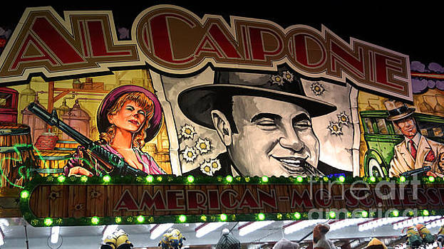 Al Capone on Funfair by Eva-Maria Di Bella