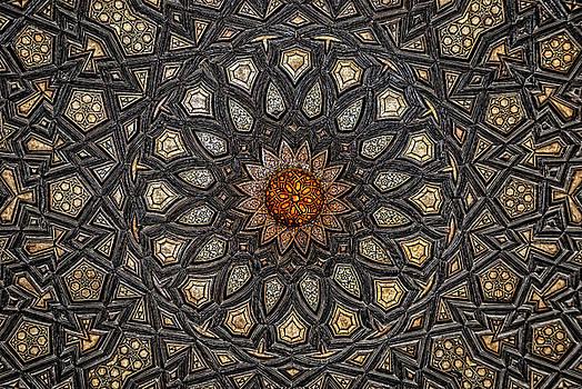 Al Ishaqi Wood Panel by Nigel Fletcher-Jones