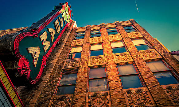 Alabama Theater Sign 2 by Phillip Burrow
