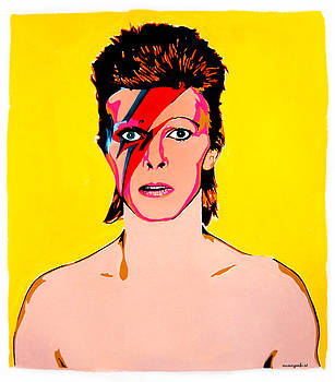 Aladdin Sane. by Nancy Mergybrower