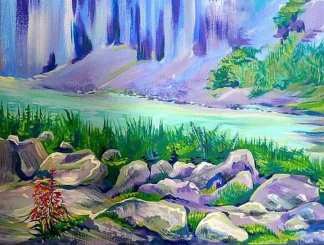 Anna  Duyunova - Alaska Canyon