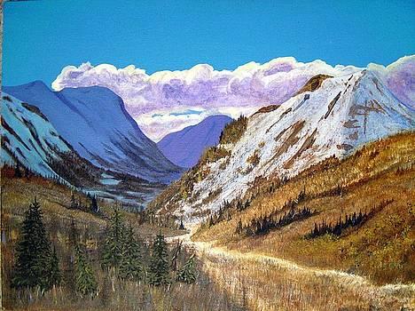 Alaska Highway Series No. 2 by Teresa Boston