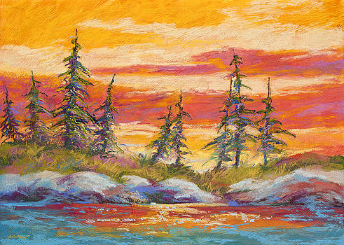Alaskan Skies by Marion Rose