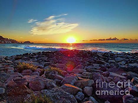 Alassio Sunset by Karen Lewis
