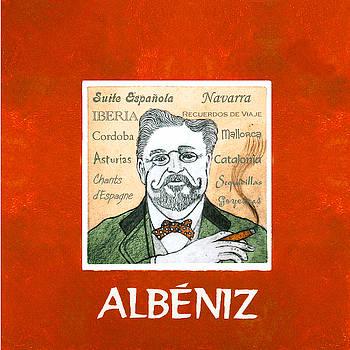 Albeniz Portrait by Paul Helm