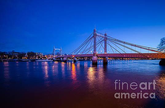 Albert Bridge London by Mariusz Czajkowski