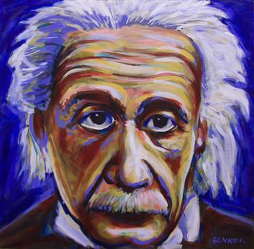 Albert Einstein by Buffalo Bonker