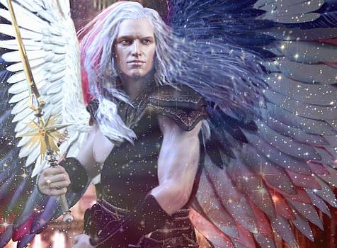 Albino Angel 4 by Suzanne Silvir