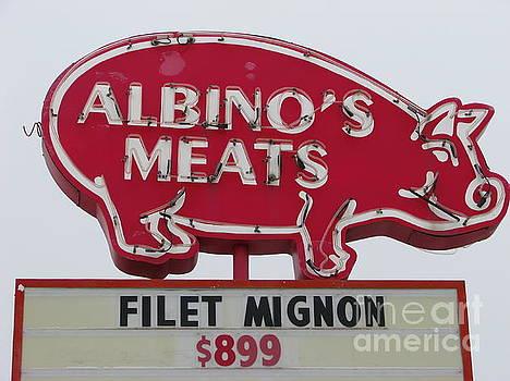 Albino's Meats by Michael Krek