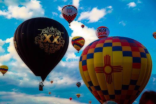 Albuquerque Balloon Fiesta 2015 by Tony Lopez
