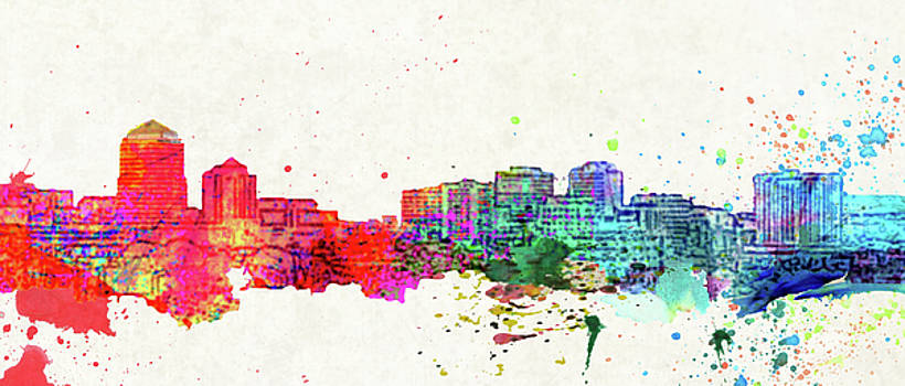Albuquerque Skyline by M Montoya Alicea