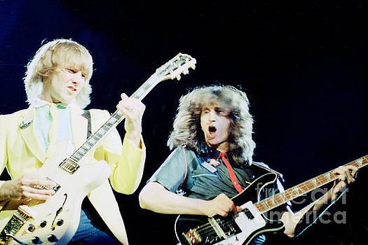 Alex and Geddy 1981 by Daniel Larsen