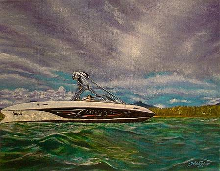 Alex's Boat by Cynthia Snider