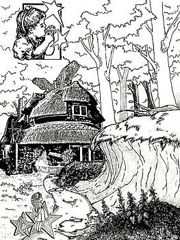 Alice at the March Hare's House by Turtle Caps