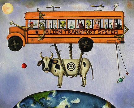 Leah Saulnier The Painting Maniac - Alien Transport System
