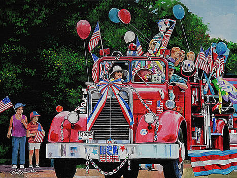 All American Parade  by Bill Dunkley
