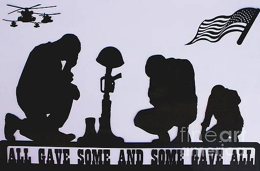 All Gave Some And Some Gave All by Natalie Ortiz