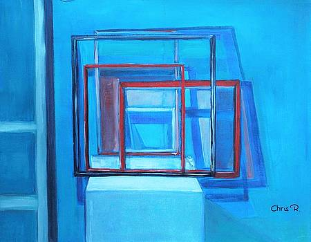 All Square and Blue by Christel Roelandt