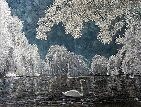 All white by Rashid Hamza