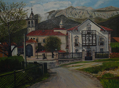Alles church by Pedro Riera