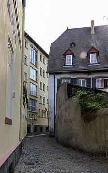 Alley in Rudesheim by Teresa Mucha