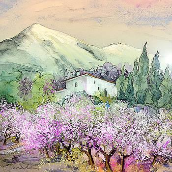 Miki De Goodaboom - Almond Trees in Altea La Vieja