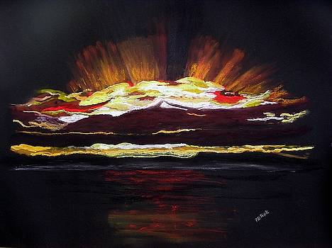 Almost Sunrise by Diane Frick