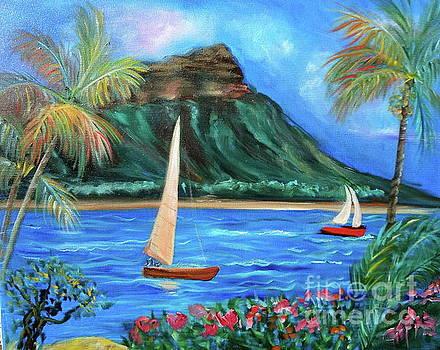 Aloha Diamond Head 11 by Jenny Lee