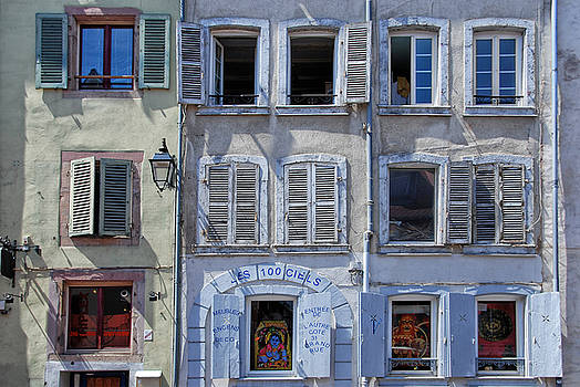 Alsation Windows by Joachim G Pinkawa